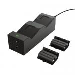 Incarcator consola Trust GXT 250 Duo pentru Xbox X/S, Black