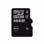 Memory Card microSDHC DELL 16GB, Class 4 + Adaptor SD