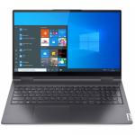 Laptop 2-in-1 Lenovo Yoga 7 15ITL5, Intel Core i7-1165G7, 15.6inch Touch, RAM 16GB, SSD 1TB, Intel Iris Xe Graphics, Windows 10, Slate Grey