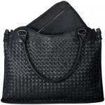 Geanta Asus Leather Wolven pentru laptop de 12inch, Black