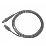 Cablu USB Datalogic 90A052211 pentru Cititoare coduri de bare, USB-A, 2m, Gray