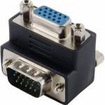 Adaptor 4World 08739, VGA Male - VGA Female, Black