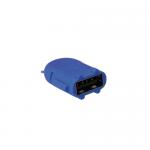 Adaptor LogiLink Micro USB B/Male - USB A/Female OTG, Blue