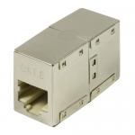 Adaptor LogiLink NP0054, RJ45-RJ45, Metallic