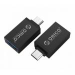 Adaptor Orico CBT-UM01, micro USB - USB 3.0, Silver