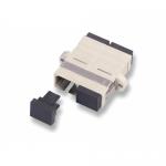 Adaptor Patchcord AMP, Duplex, SC-SC, White
