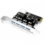 Adaptor PCI-E Raidsonic IcyBox, 4x USB 3.0