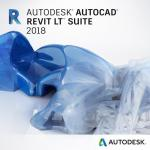 Autodesk AutoCAD Revit LT Suite 2018 Commercial New Single-user ELD 2-Year Subscription with Advanced Support