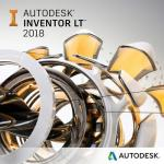 Autodesk Inventor LT 2018 Commercial New Single-user ELD Annual Subscription with Advanced Support