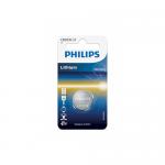 Baterie Philips Lithium, 1x 3V/CR2032, Blister