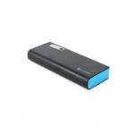 Baterie Portabila Omega Platinet, 13000 mAh, 2x USB, Black-Blue