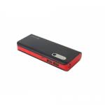 Baterie Portabila Omega Platinet, 13000 mAh, 2x USB, Black-Red