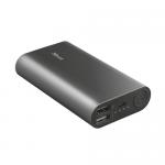 Baterie portabila Trust Luco Metal, 7500mAh, 2x USB, Black