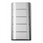 Baterie portabila Verbatim 49572, 10000mAh, 2x USB, Silver