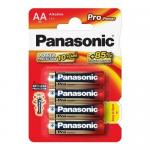 Baterii Panasonic Pro Power Alkaline, 4x LR6/AA, Blister