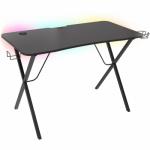 Birou gaming Natec Genesis Holm 200, RGB LED, Black