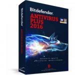 BitDefender Antivirus Plus 2016 3 user/1 an, Base Retail