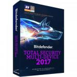 Bitdefender Total Security Multi-Device 2017 3 user/1 an, Base Retail