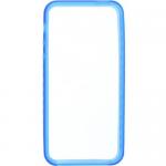 Bumper TnB IPH5BUMPBL pentru iPhone5, Blue + Folie de protectie