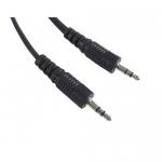 Cablu audio Gembird CCA-404M, 3.5mm jack - 3.5mm jack, 1.2m, Black