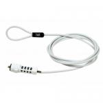 Cablu securitate TnB MCAV3W, White