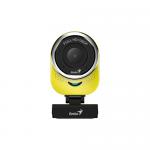 Camera WEB Genius QCam 6000, 2MP, Yellow-Black