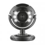 Camera Web Trust Spotlight, USB, Black