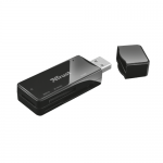 Card Reader Trust Nanga, USB 2.0, Black