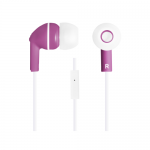 Casti cu microfon Canyon CNS-CEP03P, Purple-White