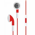 Casti cu microfon Serioux SRXA-HDPH-IE01, Red-White