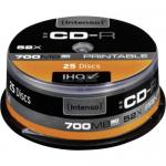 CD-R Intenso 52x, 700MB, 25 buc, Spindle