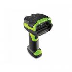 Cititor coduri de bare Zebra DS3678-HP, 2D, Bluetooth, Black-Green