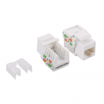 Conector Logilink Keystone, 1 x RJ45, Cat5e, UTP, White