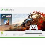 Consola Microsoft Xbox One S, 1TB, White + Joc Forza Horizon 4