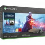 Consola Microsoft Xbox One X 1TB + Battlefield V Gold Rush Special Edition