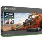Consola Microsoft Xbox One X, 1TB + Joc Forza Horizon 4 + Forza Motorsport 7