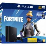 Consola Sony PlayStation 4 Pro, 1TB, Black + Fortnite Neo Versa