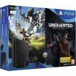 Consola Sony Playstation 4 Slim 1TB + Horizon Zero Dawn + Uncharted: The Lost Legacy