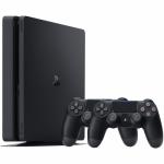 Consola Sony PlayStation 4 Slim, 500GB, Black + 2nd Controller