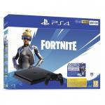 Consola Sony PlayStation 4 Slim 500GB Black + Joc Fortnite