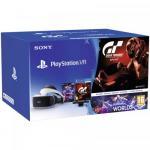 Consola Sony Playstation VR + PlayStation Camera + PS4 Gran Turismo Sport + PS4 VR Worlds