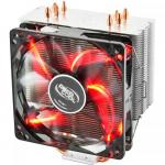 Cooler Procesor Deepcool GAMMAXX 400 Red, 120mm