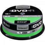 DVD-R Intenso printabil 16x, 4.7GB, 25buc, Spindle