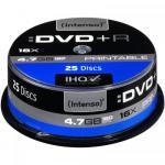 DVD+R Intenso Printabil 16x, 4.7GB, 25buc, Spindle