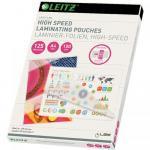 Folie pentru laminare la cald Leitz iLAM UDT A4, 125 microni, 100buc/set