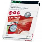 Folie pentru laminare la cald Leitz iLAM UDT A4, 175 microni, 100buc/set
