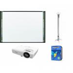 Pachet interactiv - Tabla Starboard FX79E2 88inch + Videoproiector Vivitek DX281-ST + Suport Reflecta 23060 + Software mozaBook