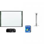 Pachet interactiv - Tabla StarBoard FX79E2 88inch + Videoproiector Optoma DS317E + Suport Reflecta 23054 + Software mozaBook