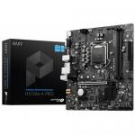 Placa de baza MSI H510M-A PRO, Intel H510, Socket 1200, mATX