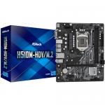 Placa de baza ASRock H510M-HDV/M.2, Intel H510, socket 1200, mATX